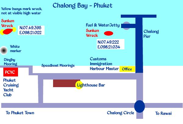 Chalong Bay Dangerous Wrecks