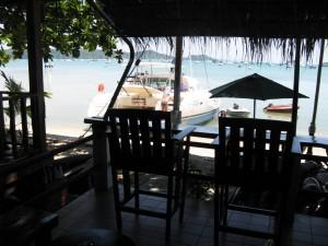 bar to dinghy moorings
