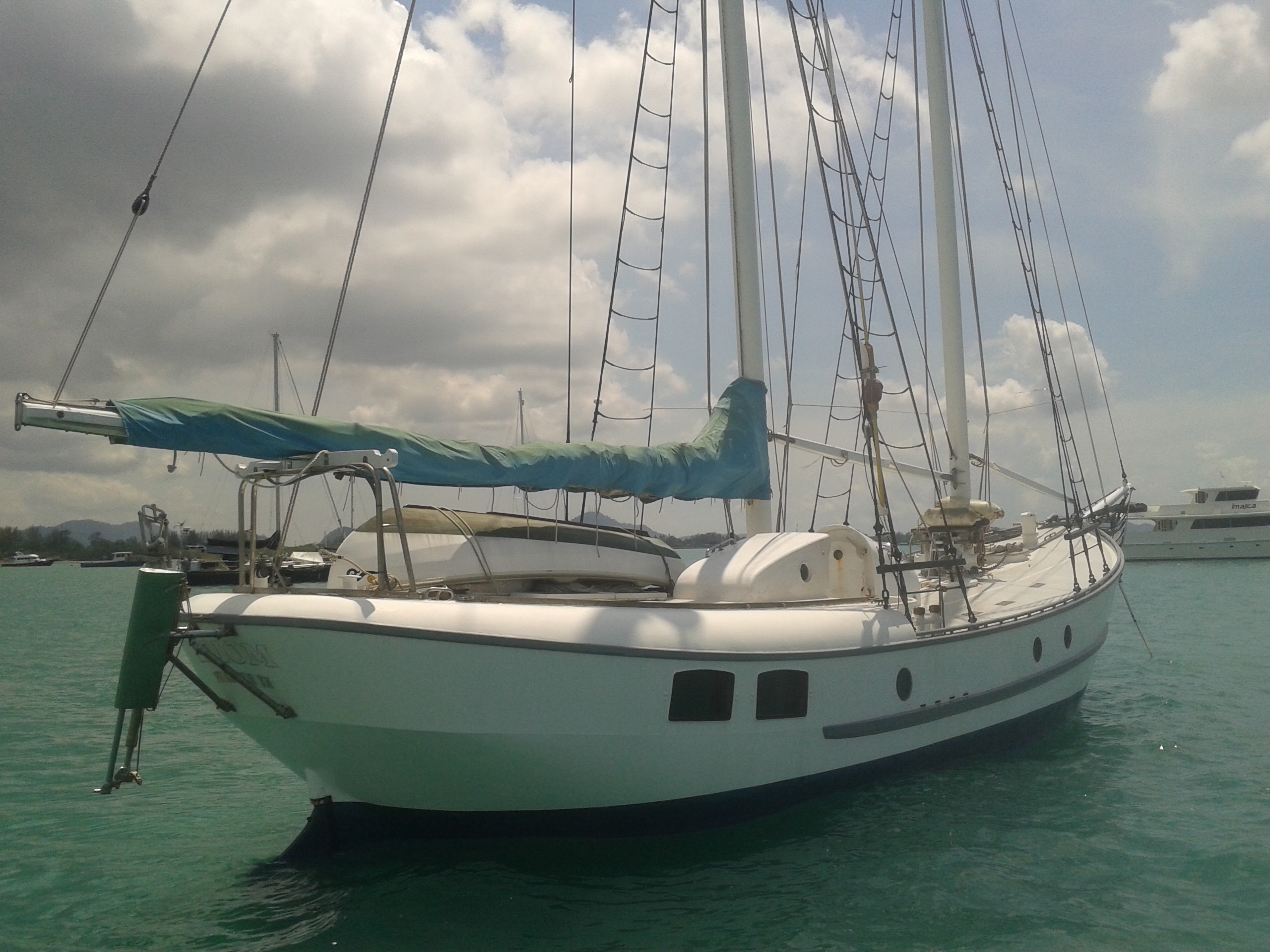 Steel Schooner 43 ft