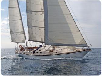 S & S 48 ft Regatta Charter