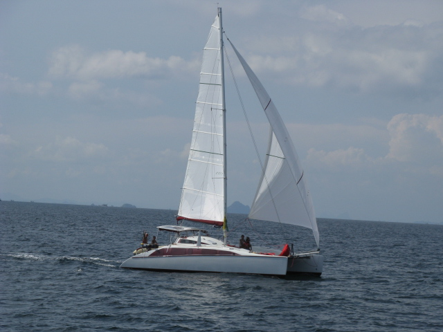 Granger 40 Catamaran, Charter for Kings Cup Regatta