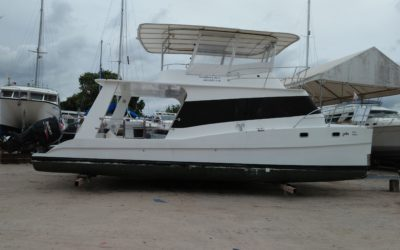 Power Catamaran 36 ft day charter