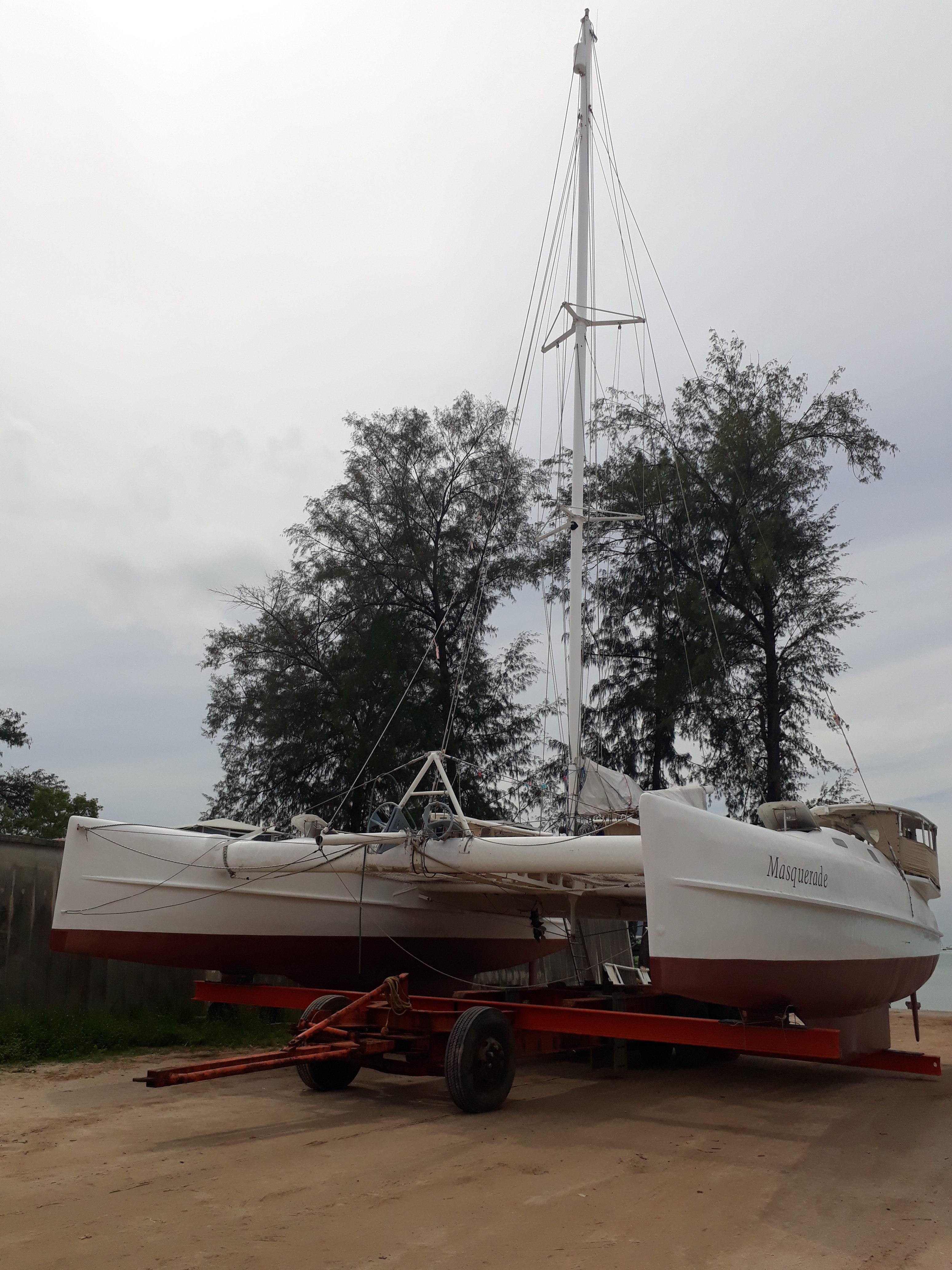 Catamaran 43 ft Grainger Ocean Sports Modified